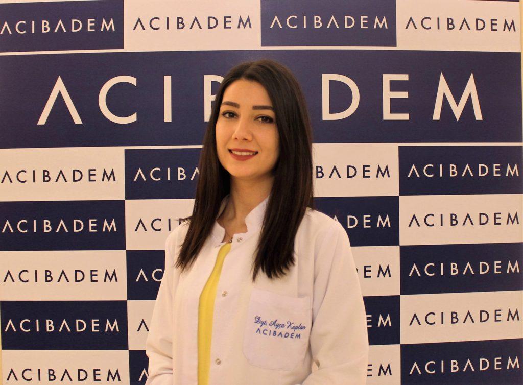 Acıbadem Bakırköy Hastanesi Beslenme ve Diyet Uzmanı Ayça Güleryü