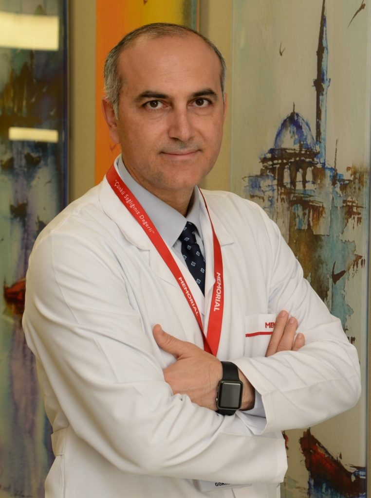 Memorial Şişli Hastanesi Genel Cerrahi Bölümü'nden Prof. Dr. Gökhan Çipe