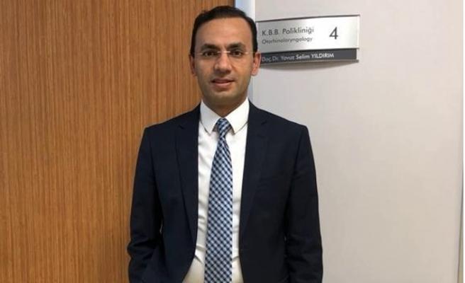 Kulak Burun Boğaz Hastalıkları Uzmanı Doç Dr. Yavuz Selim Yıldırım