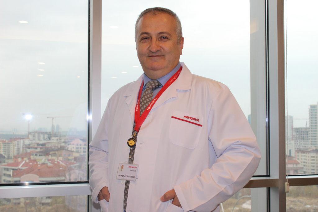 Memorial Ankara Hastanesi Üroloji Bölümü'nden Prof. Dr. Ali Fuat Atmaca
