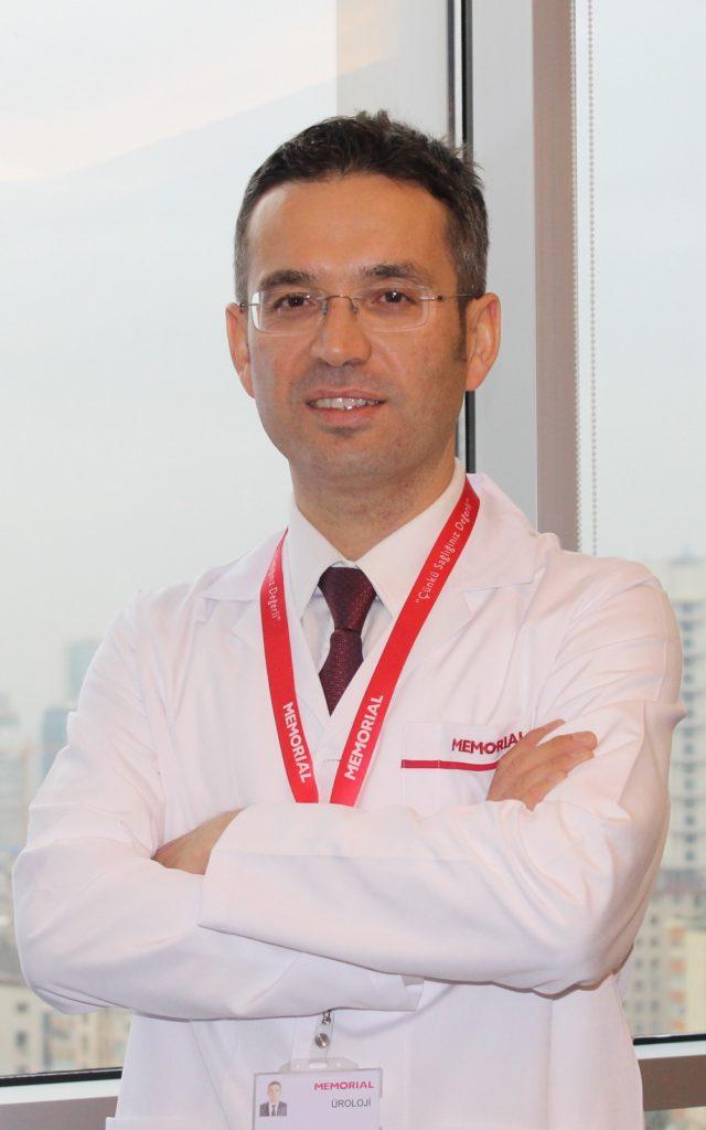 Memorial Ankara Hastanesi Üroloji Bölümü'nden Doç. Dr. Berkan Reşorlu